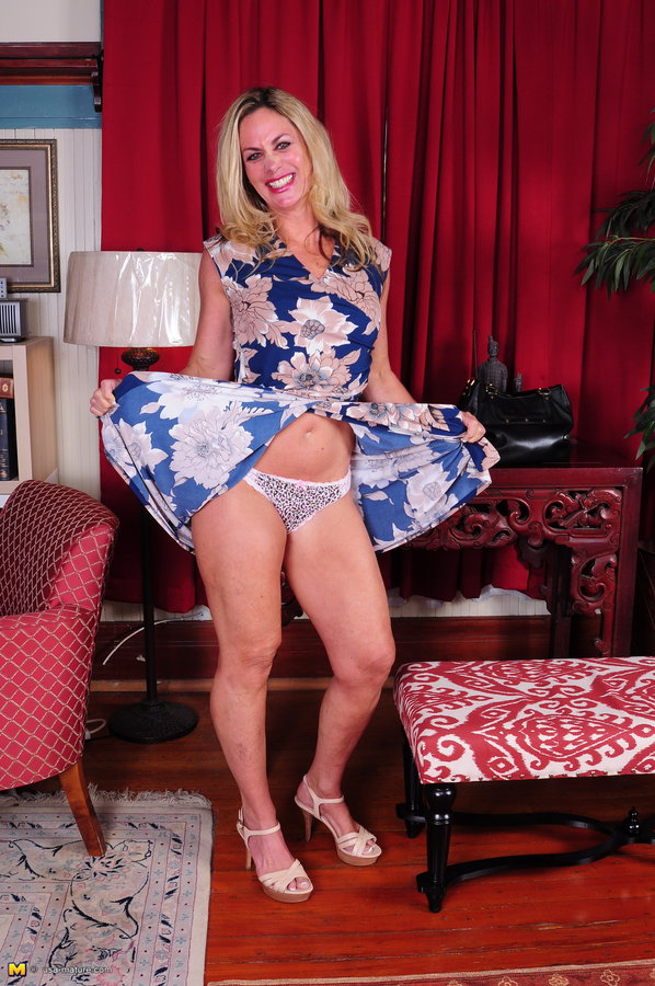 Sexy middle aged blonde long sex pictures possible
