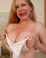 School masturbation solo along busty mature teacher
